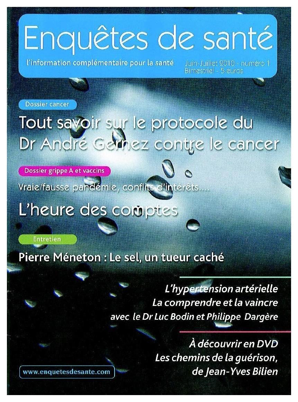 Enquêtes de Santé n°1 - Juin-Juillet 2010
